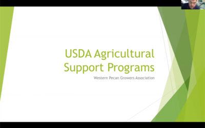USDA Agriculture Support Program WPGA