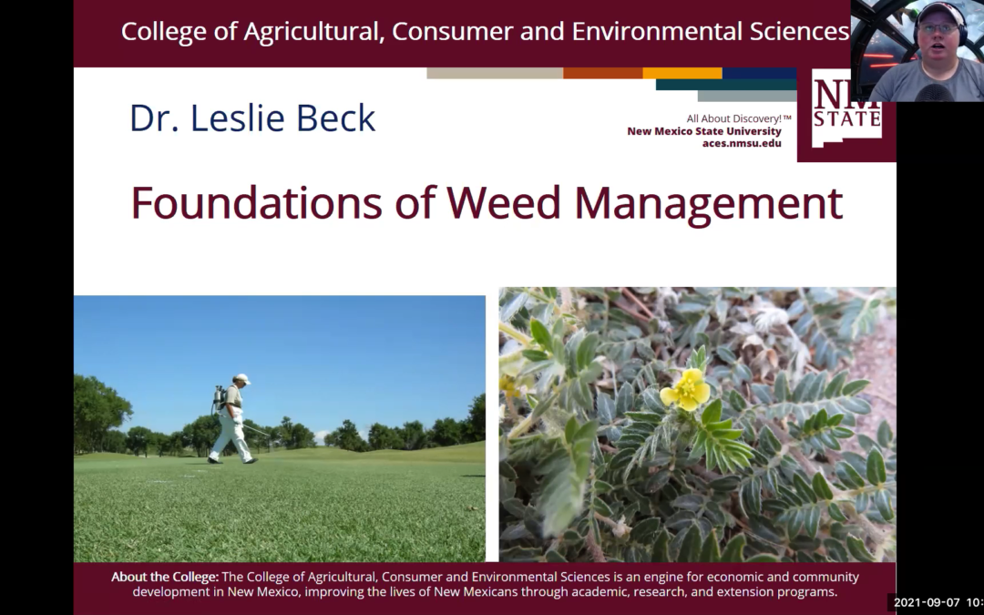 Foundations of Weed Management